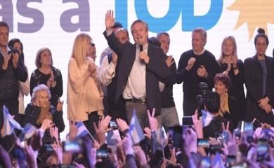 Triunfo peronista que deja a Alberto Fernández a un paso de la Presidencia