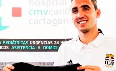 El totorense Pablo Caballero nuevo jugador del Cartagena de España