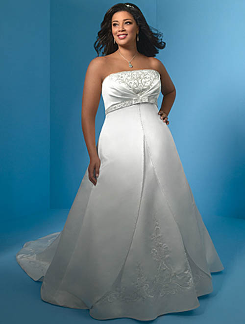 plus size designer wedding dresses sangmaestro