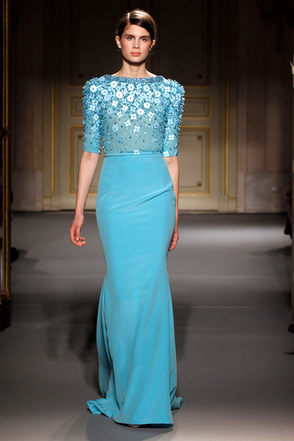 Georges hobeika spring and summer couture 2013sang maestro for Georges chakra gold wedding dress price