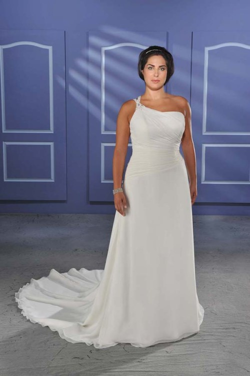 Beautiful Plus Size Summer Wedding Dresses