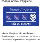 Alim confiance test l' hygiene des pros