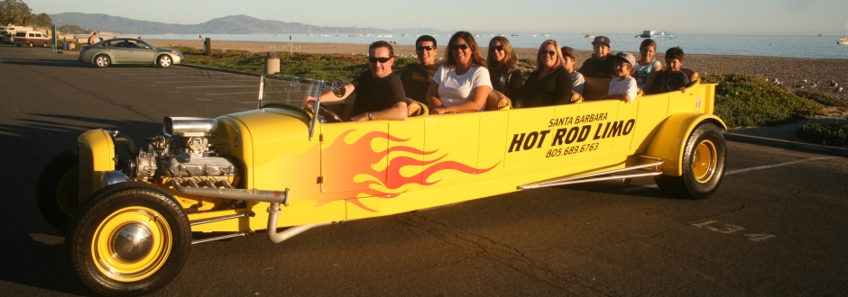 Santa Barbara Hot Rod Limo Header1