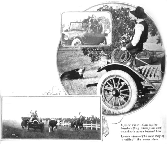 "Illustration from ""The Oldsmobile Pacemaker,"" December 1917"