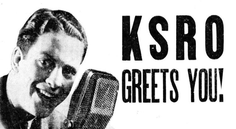 "The Press Democrat did a cross promotion with KSRO where a newspaper photographer would take a picture of someone during a ""Man on the Street"" interview. If your face was circled in the photo printed the next day you won a prize (in this case, a turkey) by identifying yourself. Press Democrat, Dec. 15 1937"