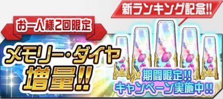 新ランキング記念!ダイヤ割引キャンペーン