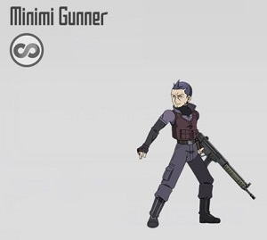 minimi Gunner