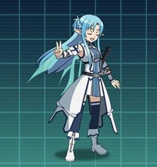 【想いを継し水剣士】アスナ