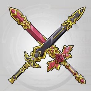 星雲の夜剣×赤薔薇の煌輝剣