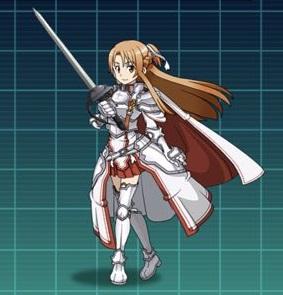 【閃光の整合騎士】アスナ