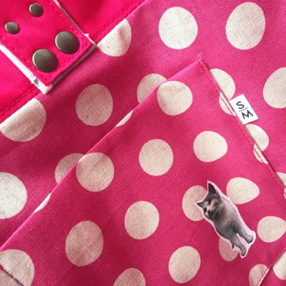 Saori Mochizuki 望月沙織 中目黒 雑貨屋 水玉 ボーダー 猫 ストライプ バッグ