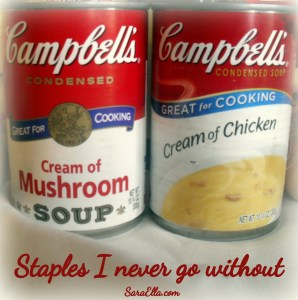 Campbell's staples