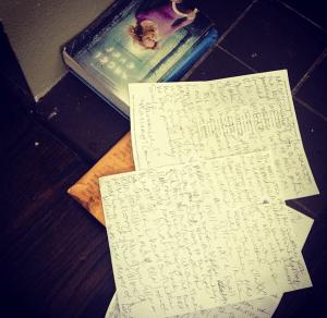 My friend, the handwritten note-taker!