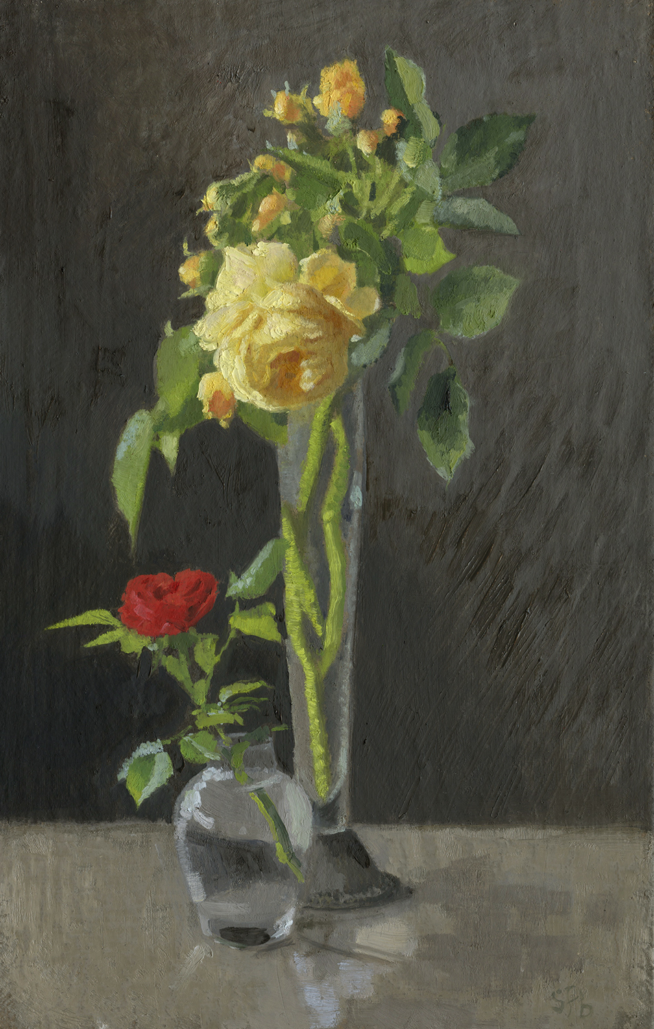 Cheerful Unconditional Love Painting Sarah F Burns Rogue Valley Roses Reviews Scoop On Rogue Valley Roses Jeri Jennings houzz-02 Rogue Valley Roses