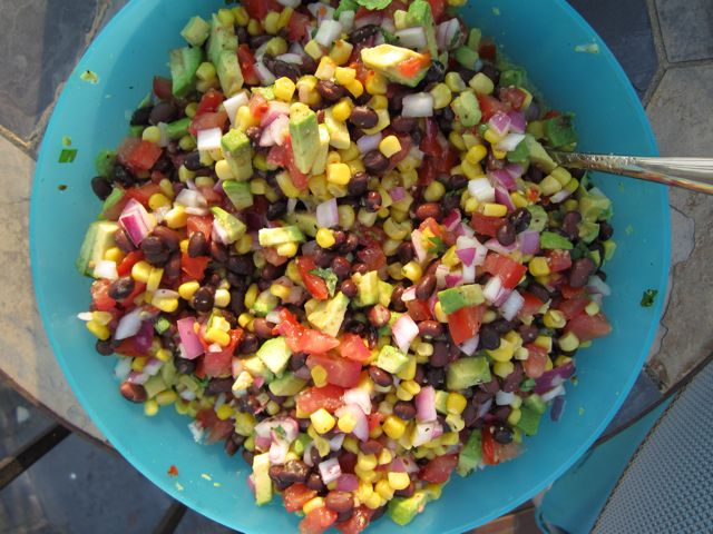 Texas Caviar With Avocado Recipe — Dishmaps