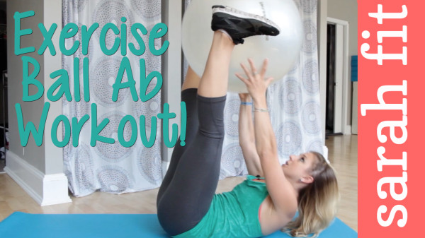 Exercise Ball Abs Workout Video