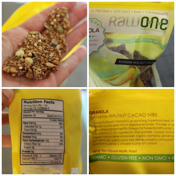 Raw One Granola