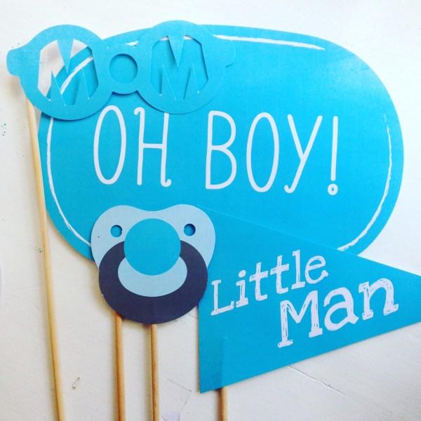 Baby Boy Gender Reveal Decoration