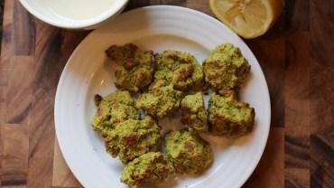 Simple Vegan Recipe: Baked Falafel