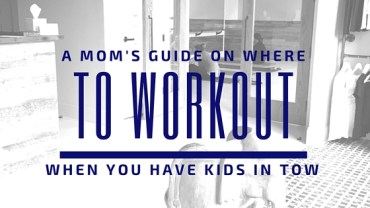 The Fit Mom's Guide To Working Out In Boston (with kids)