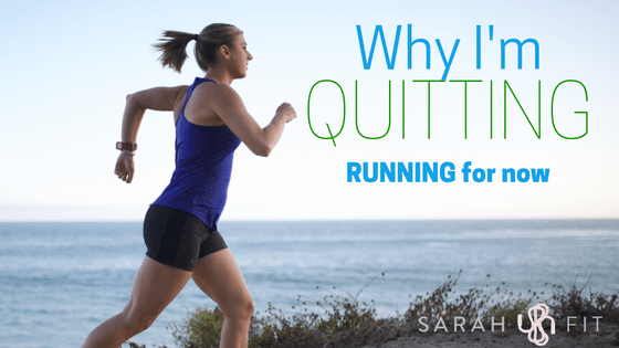 I'm Breaking Up With Running… For Now