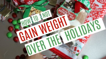 How To Avoid Gaining Weight During The Holidays