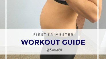First Trimester Workout Guide | PreNatal Fitness Routine