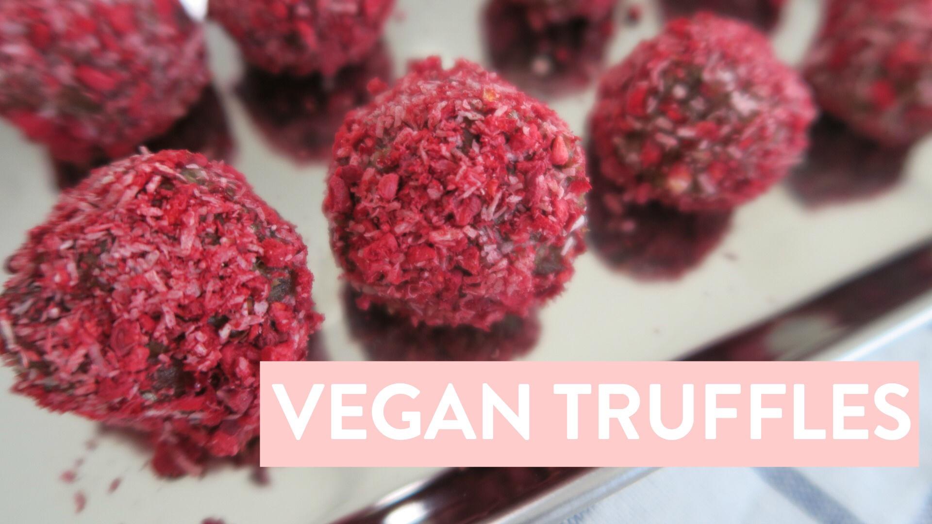 Raw Vegan Truffle Recipe for Valentine's Day