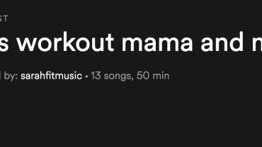 My Favorite 90's Workout Playlist