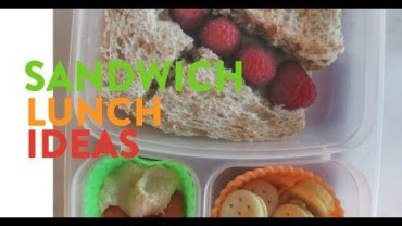 5 Sandwich Ideas For Preschool Lunch Boxes