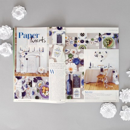 Wedding Flowers Magazine Paper Flowers