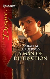A Man of Distinction by Sarah M. Anderson cover