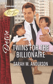 twins for the billionaire by Sarah M. Anderson cover image