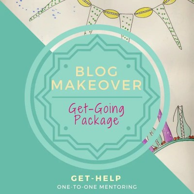 Get Help: Blog Make-Over | Get-Going Package
