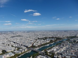 See Paris from the Eiffel Tower