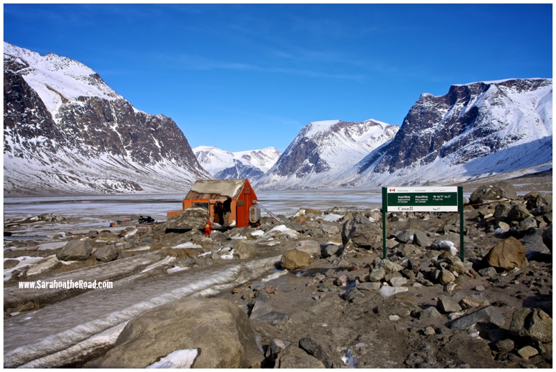 Auyuittuq National Park  The Hamlet of Pangnirtung