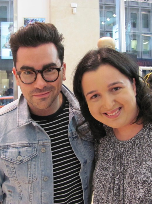 Sarah Prince and Dan Levy