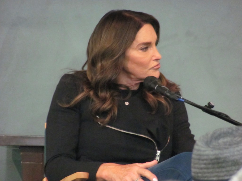 Caitlyn Jenner Barnes & Noble New York