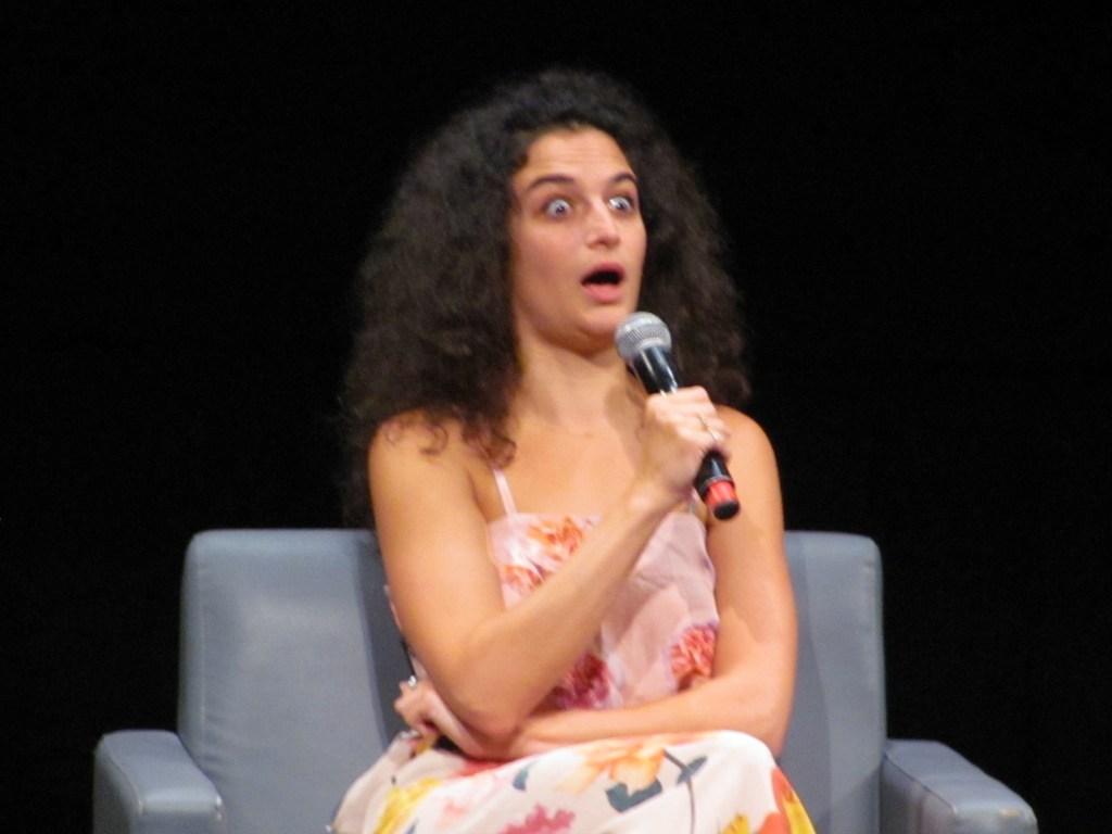 Jenny Slate Shocked Face