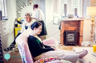 Sarah Russell Hair & Makeup - Laura&Spen Dec 2013