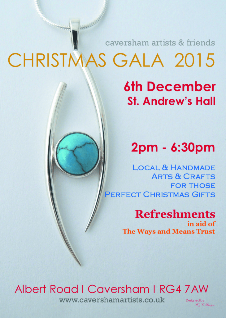 Caversham Artists and Friends Christmas Gala 6th December 2015