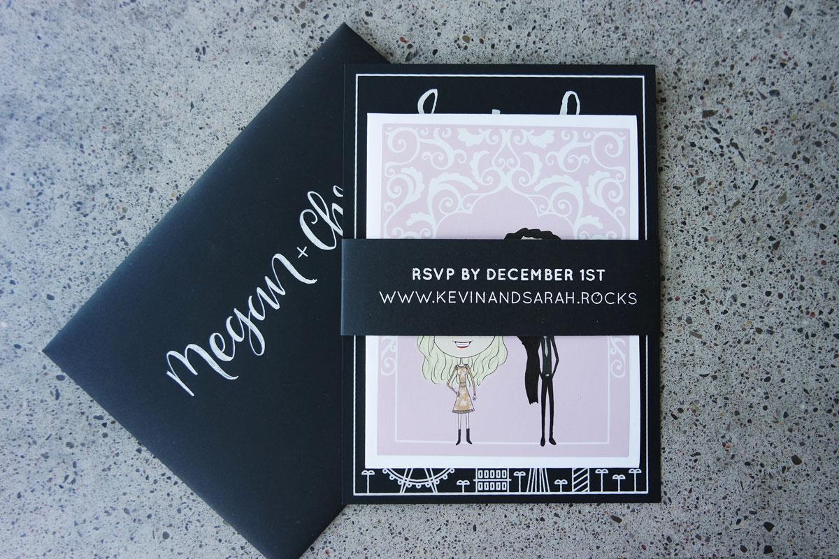 vegas wedding party invitations vegas wedding invitations modern diy las vegas wedding invitations