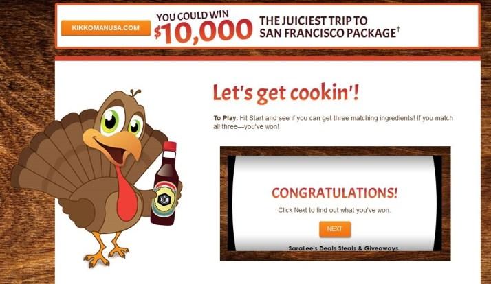 Kikkoman - 2014 Juicy Bird Sweepstakes