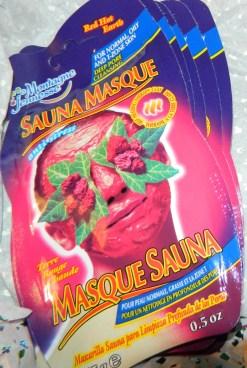 7th Heaven Red, Hot Earth Sauna Face Masque