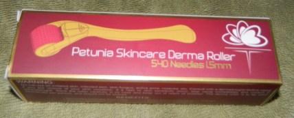 Petunia Skincare 1.5mm 540 Needles Derma Roller