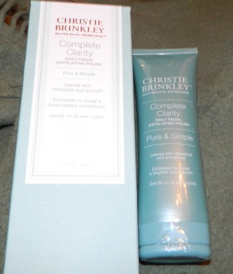 Christie Brinkley Complete Clarity Daily Facial Exfoliating Polish