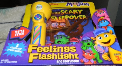 The Moodsters Feeling Flashlight and Story Book
