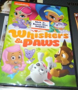 Nickelodeon Favorites: Whiskers & Paws DVD