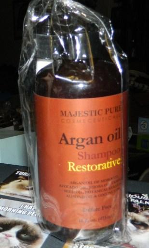 Argan Oil Shampoo from Majestic Pure 16oz