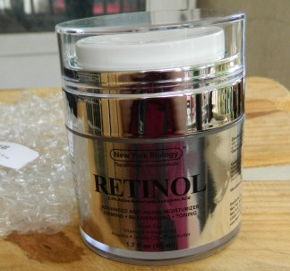 New York Biology Retinol Moisturizer w Hyaluronic Acid 1.7oz